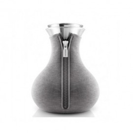 Tea maker neopreen woven dark grey 1,0 l.