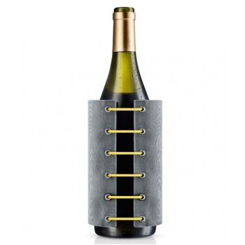 StayCool wine cooler, grey/yellow