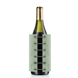 StayCool wine cooler, eucalyptus green