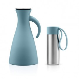 Set Thermoskan 1,0 L en To Go Cup 0,35 L artic blue
